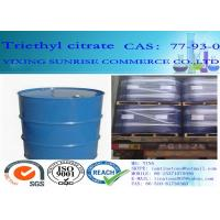 Wholesale Triethyl Citrate Plasticizer CAS 77-93-0 C12H20O7 Light Fastness Oil Resistance from china suppliers