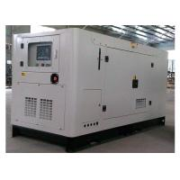 China Soundproof diesel cummins power generation 80KVA / industrial generators on sale