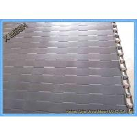 China Professional Stainless Steel Conveyor Chain Board Mesh Belt 50.8mm Pitch on sale