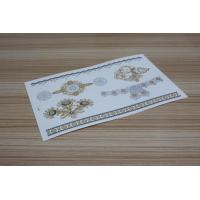 Wholesale Gold metallic foil temporary tattoo from china suppliers