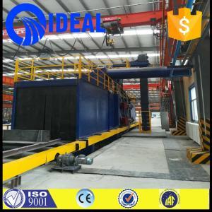 Wholesale Abrator machine type shot blasting machine with siemens/schneider PLC from china suppliers
