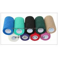 Wholesale Cohesive Elastic Bandage For Cow Equine Horse 4inch Non - Woven Hand Tearable from china suppliers