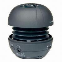 Buy cheap Mini Speaker, Ideal for MP3/MP4/CD Players, with SD Card Slot and 230Hz to 18KHz from wholesalers