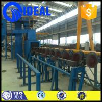 Quality Industrial equipment automatic steel plate pretreatment line for removing rust for sale