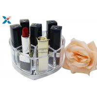 Wholesale Makeup Organizer Acrylic Box , Clear Acrylic Lipstick Organizer For Brushes / Skincare from china suppliers