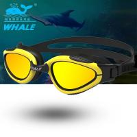 Quality Adult Blue Polarized Swimming Goggles with Mirror Coating and Long Lasting for sale