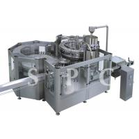 Wholesale High Speed Beverage Filling Machine Glass Bottle Beer Liquid Filling Equipment from china suppliers