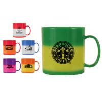 Wholesale Double-wall color change plastic travel mug from china suppliers
