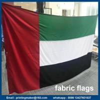Buy cheap Where to Get Printed Fabric Advertising Flags with Grommets from wholesalers