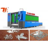 Wholesale Flat bed Cnc Steel Cutting Machine / SS Laser Cutting Machine With Original Fiber Laser from china suppliers