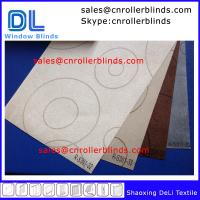 China Embossed Woven-Blockout Fabric for Roller Blinds on sale