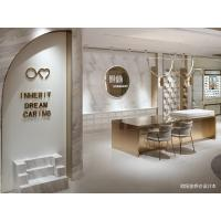 Quality Light luxury design display furniture for Optical fixture of Steel showcase with for sale