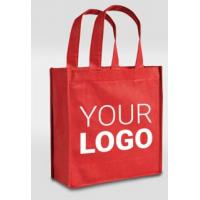 Wholesale Custom Logo Printed Eco Friendly Tote Shopping Carry Fabric PP Laminated Recyclable Non Woven Bag, Promotional PP Non Wo from china suppliers