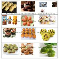China Semi-Automatic Cup Cake Production Line CE Approval muffine madeleine cupcake forming machine on sale