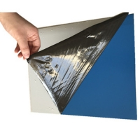 Wholesale Composite Panel Temporary PE 1250mm 80Mic Aluminum Laminated Film from china suppliers