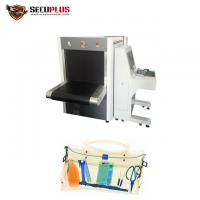 Buy cheap 160KV X Ray Baggage Inspection System 35mm Steel Penetration For Hotel from wholesalers