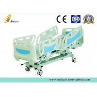 China ABS Adjustable Coated Steel Frame Hospital Electric Beds, ICU Bed With Soft Joint (ALS-E513) on sale