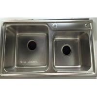 China Factory Suppy Stainless Steel Kitchen Sink WY-7239D for sale