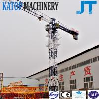 Wholesale Low price TC5010 5t load 50m high flat top tower crane from Katop factory from china suppliers