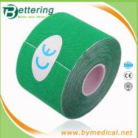 Wholesale Kinesiology Tape Gym Sports Muscles Care Therapeutic Kinesio Tape green colour from china suppliers