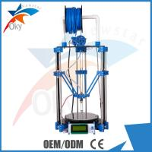China Desktop 3D Printer DIY ROSTOCK Mini Pro Replicator Machine kit on sale