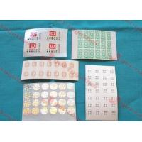 Buy cheap Customized Transparent Adhesive Labels For Bar Code Labels, Daily Chemical Industry from wholesalers