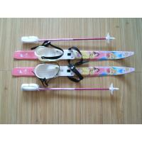 Buy cheap Crosscountry ski sets with rubber plastic ski bindings, ski poles from Wholesalers