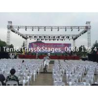 China Screw Or Spigot Portable Lighting Truss For Concert / Celebration / Party for sale