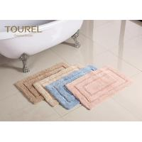 Wholesale Thick And Big Plush Bathroom Rugs / Hotel Washable Bath Mat from china suppliers
