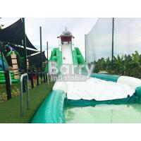 Wholesale Professional Hippo Giant Inflatable Slide Customized Size With Water Pool from china suppliers
