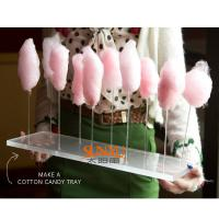 Quality Thick Acrylic Countertop Food Display Transparent For Pretty Cotton Candy for sale