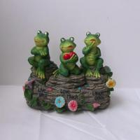 China Polyresin Frog Figure Decoration (SFR0652) on sale