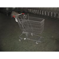 Wholesale Color Powder Coating canadian style Supermarket Shopping Carts from china suppliers