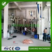 electrolysis separating  physical method PCB recycling equipment Waste PCB boards recycling machine