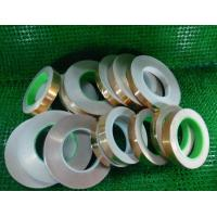 China 0.06mm Copper Foil Tape ,High Quality 0.2mm copper foil tape,Many color choose AL+PET material colored copper aluminum f on sale