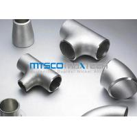 Wholesale WP321 / 1.4541 Flanges Pipe Fittings For Connection , ASTM A403 Stainless Steel Tee from china suppliers