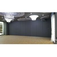 China Conference Hall Movable Partition Walls , Sliding Door Roller Interior Sound Proof Wall Dividers on sale