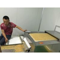 Wholesale Grains Peanut Soybean Biomass Drying Machine , Industrial Microwave Dryer from china suppliers