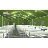 China temporary relief tent military tent emergency relief tent army tent from Liri on sale