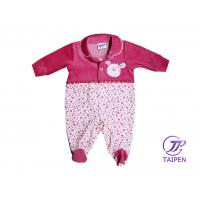 China 100% Cotton Custom Red Winter Wear Toddler Romper / Baby Romper Suits in 4 - 6 Month on sale