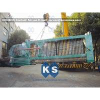 Wholesale Automatic Gabion Production Line , Durable Gabion Net Welded Wire Mesh Machine from china suppliers