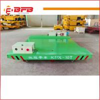 Wholesale Heavy duty electric Industrial Usage Motorized Transfer Cart china factory from china suppliers