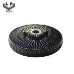 Wholesale ADC12 Powder Coating Aluminium Die Castings Sun Flower Aluminum CPU Heat Sink from china suppliers
