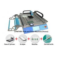 Wholesale Vision System CMT 48V SMT Pick and Place Machine Kit With Stencil Printer Nozzles from china suppliers