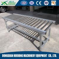 Stainless Steel Gravity Conveyor , Chain Driven Roller Conveyor High Efficiency
