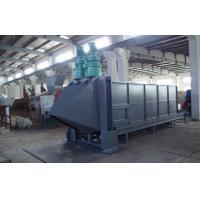 China Horizontal Plastic PET Flakes Washing Line Bale Breaker Machine for sale