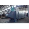 Horizontal Plastic PET Flakes Washing Line Bale Breaker Machine for sale