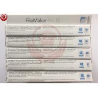 Wholesale OEM Adobe Graphic Design Software Filemaker Pro Software For Desktop / Laptop from china suppliers