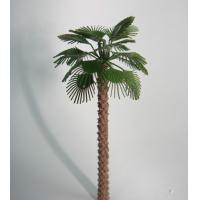 Buy cheap copper palm tree,1:50 model metal tree,miniature artificial trees,fake tree from wholesalers
