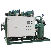 China Bitzer compressor HSN7471-75Y refrigeration cold storage machinery with electrical control boxes on sale